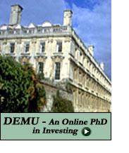 DEMU - An Online PhD in Investing
