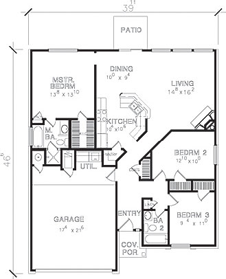 Handicap accessible floor plans house plans home designs for Accessible house plans